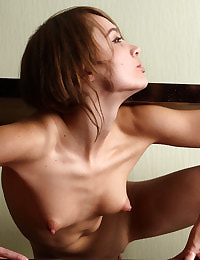 petite babe with stiff nipples fully errected and ready to take all in,