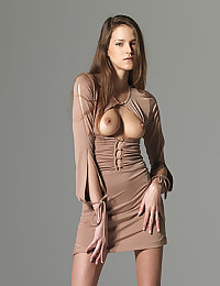 Silvie Skin Colored Dress