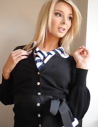 Secretary in Lingerie Student Stevie-Louise Ritchie