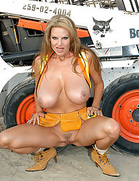 Kelly Madison Hard at Work
