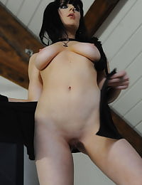 Secretary in Stockings Samantha Bentley in November 2011