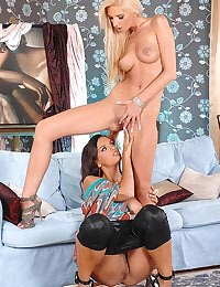 Bambi and Eve Angel having sex