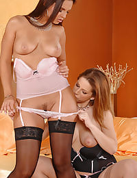 Eve Angel and Nicole having sex