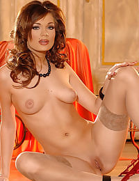 Beautiful and sultry Kyla Fox
