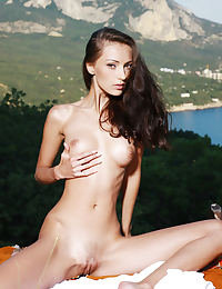 Anna AJ in Atrani Nude Photography by Leonardo