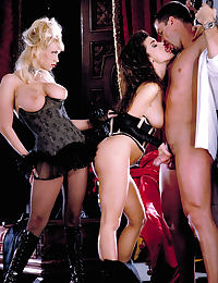 Glamour Nude Centerfold Taylor Hayes and Jenna Jameson