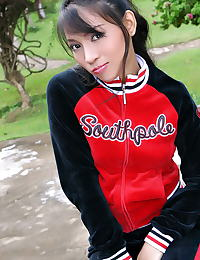 Asian monica sung 05 braces sporty girl