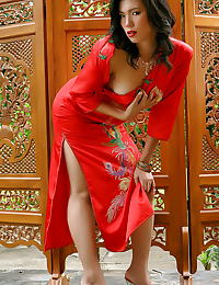 Asian wang xiao hong 05 red high heels sexy asian