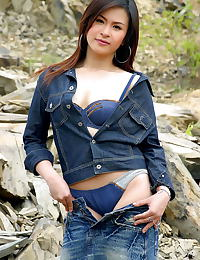 Asian jasmine 01 tight jeans hard nipples