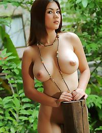 Super Busty Natt Chanapa Cabin Nudes