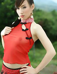 Chinese Princess Shampoo Mei Strips Outdoors