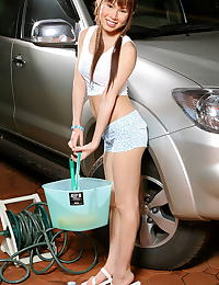 Asian marci yee 01 trimmed pussy carwash