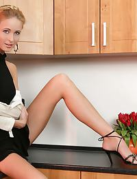 Michaelle - Kitchen Penetrated