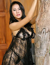 Asian nancy ho 10 sheer lingerie funbags