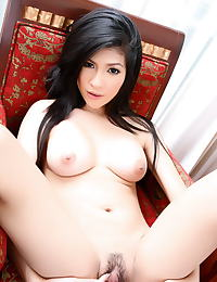 Asian chen pai ling 05 wet dripping pussy banana
