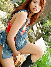 Asian farida mala 05 cowgirl forest red pussy