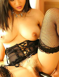 Asian nancy ho a4y 05 secretary garter belt stocking