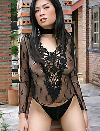 Asian wang shui wen 06 see trough lingerie