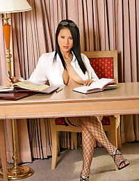 Asian nancy ho 04 bigtits secretary