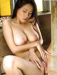 Asian annie chui 06 farmers daughter forest hugetits
