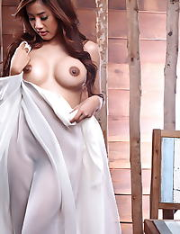 Asian ammy kim 10 big nipples big areolas sheer
