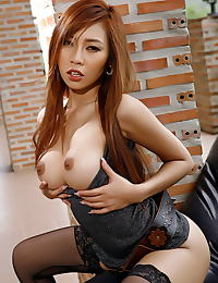 Asian minny fong 16 sexy lingerie tight pussy