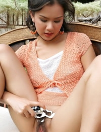 Disrobed Thai Horny Female Jasmine Wang